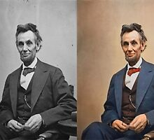 Colorized Abraham Lincoln by farhad1371