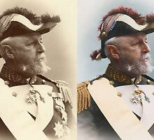 Colorized Oscar II, King of Sweden and Norway by farhad1371