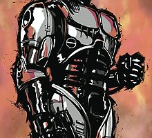 Robocop by Killustration