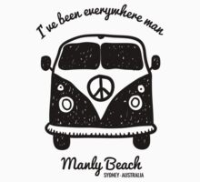 Manly Beach  by PopGraphics