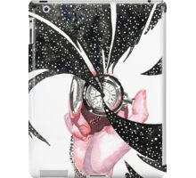 Time is in Your Hands iPad Case/Skin
