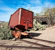 Goldfield Mining Car by Lee Craig