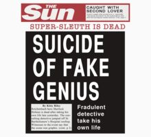 Suicide of Fake Genius! by ohsotorix3