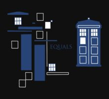 TARDIS  by MinxMacabre