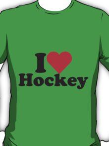 I Heart Love Hockey T-Shirt