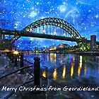 Geordieland Christmas by David  Parkin