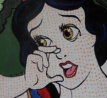 Snow White in a Lichtenstein Style by lissyleem