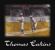 Thomas Eakins - Baseball Players Practicing by William Martin