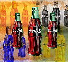 Coke - Coca Cola - Pop Art by STUDIO 88 STRATFORD TARANAKI NZ