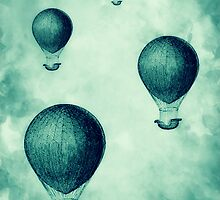 Steampunk Hot Air Balloons by RumourHasIt