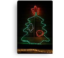 franklin road christmas tree - greeting card Canvas Print