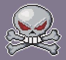 8 bit skull? by MarkSeb