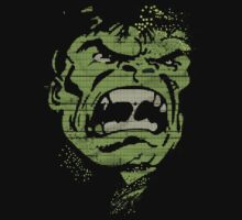 The hulk face by borntodesign