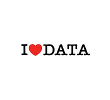 I Love Data (Black text) by TP79