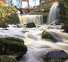 Lumb Falls Near Hebden Bridge by fotohebden