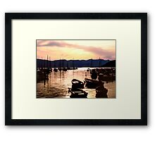 Dont rock my boat  Framed Print