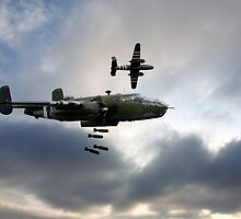 B25 Mitchell Bombers by James Biggadike