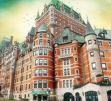 Chateau Frontenac, Quebec City, Canada by Yannik Hay