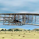 Wright Flyer by Walter Colvin