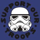Support Our Troops - round by David Ayala
