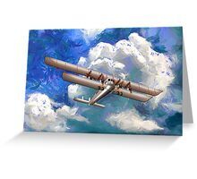 Sikorsky Ilya Muromets -  the World's First  Four Engine Passenger Plane/ Heavy Bomber Greeting Card