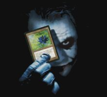 Joker Plays a card - MTG Black Lotus by StraightEK