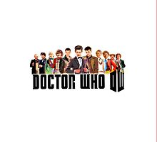 DOCTOR WHO 50TH ANNIVERSARY IPHONE CASE by M Put