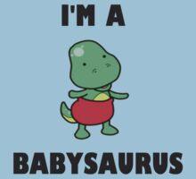 I'm a babysaurus ! Kids Clothes