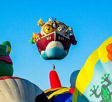 Balloon fiesta by Steven Ralser