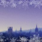 Winter Oxford Spires by ChocChipCookie