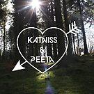 Katniss & Peeta <3 - Forest (personalisation available) by EF Fandom Design