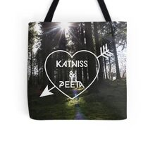 Katniss & Peeta <3 - Forest (personalisation available) Tote Bag