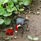Santa Beatle!! by Ann Warrenton