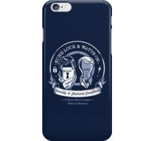 Sure-Lock & Watts-On Consulting phone case iPhone Case/Skin