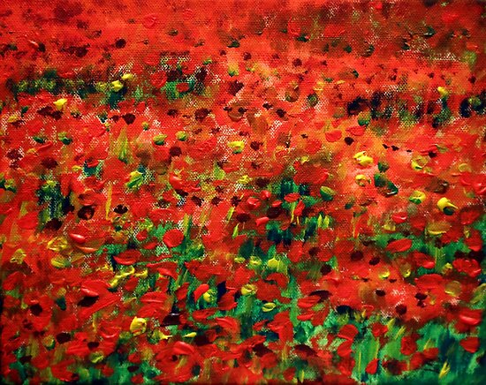 Poppies #1 by Wayne Gerard Trotman