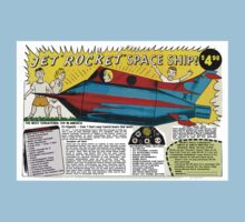 Jet Rocket Space Ship by kayve
