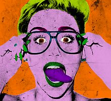 Miley Warhol by Jesse Metcalfe