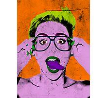 Miley Warhol Photographic Print