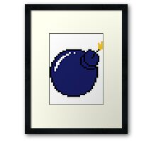 BOMBS! Framed Print