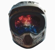 Galaxy Helmet by icbuysticker