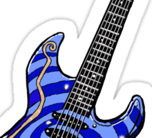Dormouse Guitar Sticker