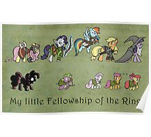My little fellowship of the ring Poster
