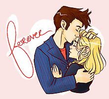 Forever - Rose/Tentoo by Uccellino