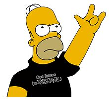 Homer Simpson - God Listens (to Black Metal) by NejiHyugguh