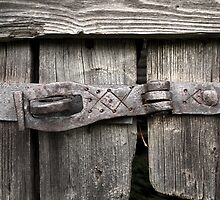 Old forged door latch by mrivserg