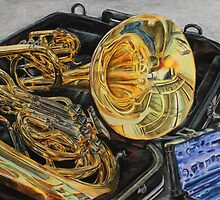 Old Brass Band by ErinFarley