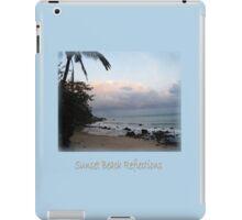 Sunset Beach Reflections iPad Case/Skin