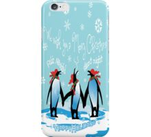 Merry Christmas from South Pole iPhone Case/Skin