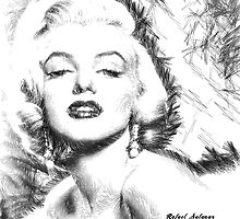 Marilyn Monroe - The one and only! by Rafael Salazar
