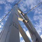 Forth Road Bridge. December Sun.  by LBMcNicoll
